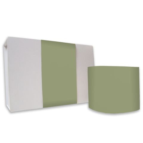 SKINNY WRAP UNCOATED PLAIN OLIVE GREEN 80gsm
