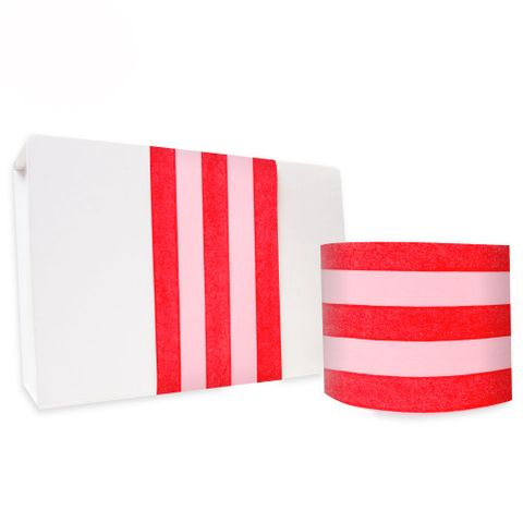 SKINNY WRAP UNCOATED PAVILION POPPY RED/PINK 80gsm