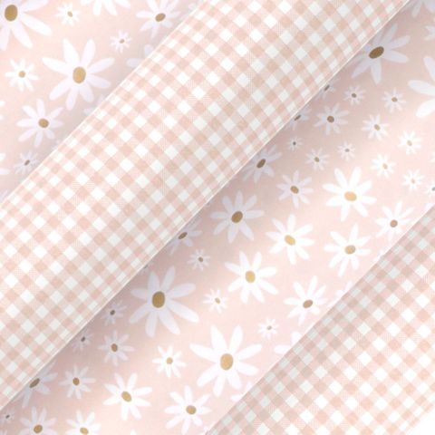 DAISY CHAIN CHAMPAGNE UNCOATED COLLECTION