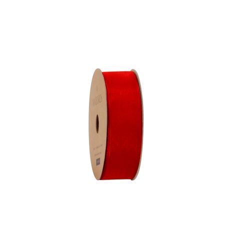 10M ORGANDY RED 25mm