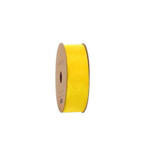 10M ORGANDY YELLOW 25mm