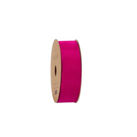 10M ORGANDY FUCHSIA 25mm