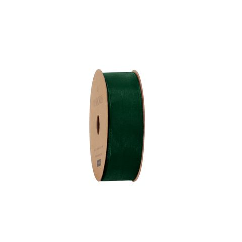 10M ORGANDY DARK GREEN 25mm