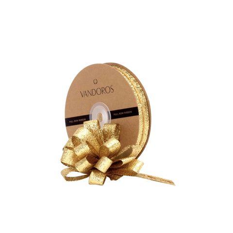 PULL BOW RIBBON - STELLAR ANTIQUE GOLD