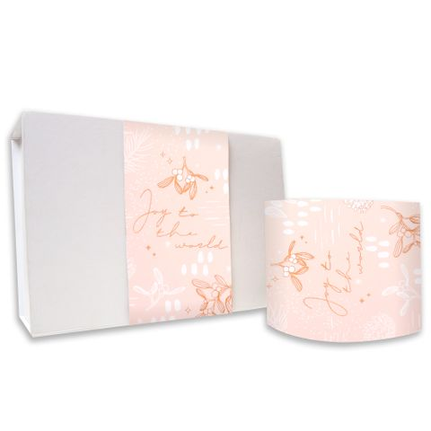 SKINNY WRAP - UNCOATED UNDER THE MISTLETOE CHAMPAGNE/COPPER