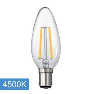 Candle C35 4w LED Filament - B15 - 4500K