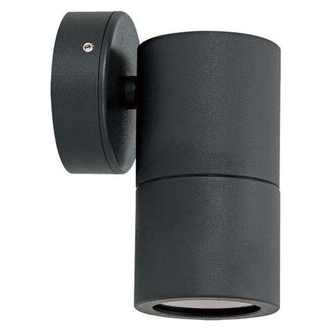 Jetson Single Fixed Wall Light - Black