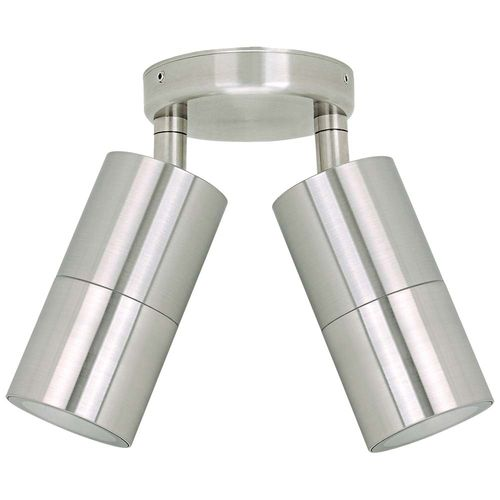 Jetson Double Adjustable Wall Light - 304ss