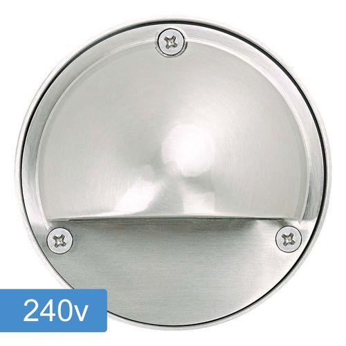 Bolton Step Light with Eyelid - 240v - 316ss