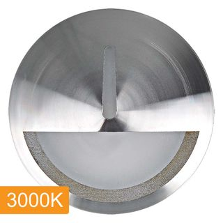 Manix 5w LED Step Light with Eyelid - 240v - Titanium - 3000K