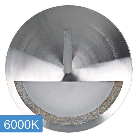 Manix 5w LED Step Light with Eyelid - 240v - Titanium - 6000K
