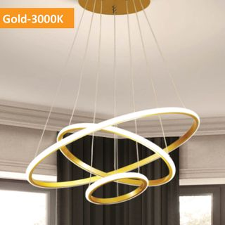 Crown 3 Ring - Gold - 3K