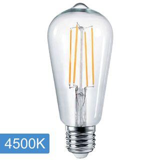 Pear ST64 4w LED Filament - E27 - 4500K