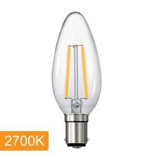Candle C35 4w LED Filament - B15 - 2700K