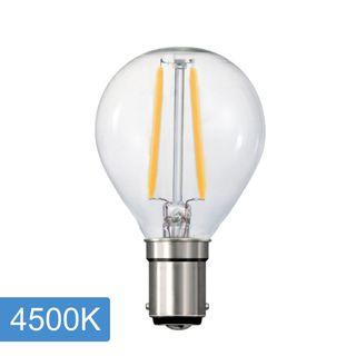 Fancy Round P45 4w LED Filament - B15 - 4500K