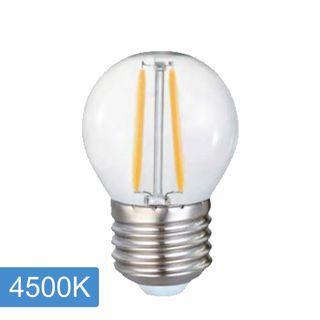 Fancy Round P45 4w LED Filament - E27 - 4500K
