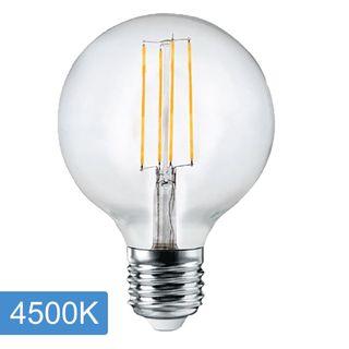G125 6w LED Filament - E27 -Dim - 4500K
