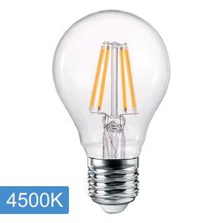 A60 6w LED Filament Lamp - E27 - 4500K