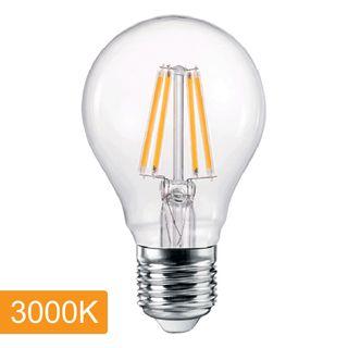 A60 6w LED Filament Lamp - E27 - 2700K