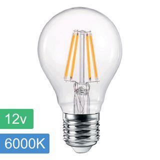 A60 12v 4w LED Filament Lamp - E27 - 4500K