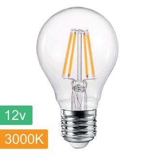 A60 12v 4w LED Filament Lamp - E27 - 2700K