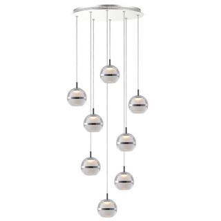 POD LED Pendant Light -8 Light - 3000K