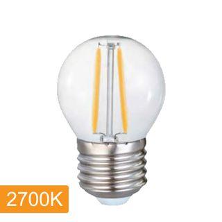 Fancy Round P45 4w LED Filament - E27 - 2700K