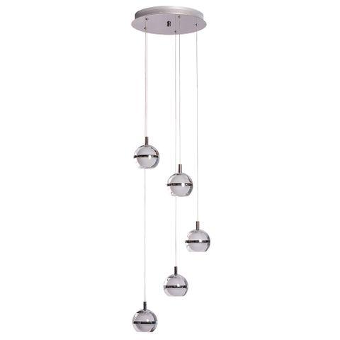 POD LED Pendant Light -5 Light - 5000K