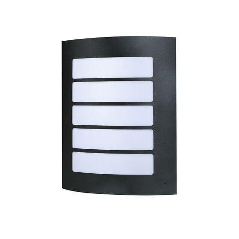 Stark LED Wall Light - BLK - 6000K
