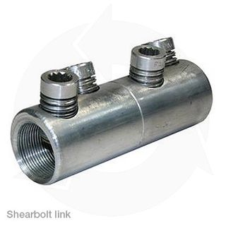 Shear Bolt Barrier Links