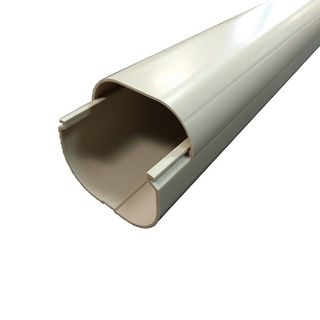PVC Duct 2meter 100mm UV Ivory WITTY
