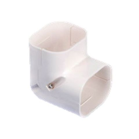 Elbow Vertical 80mm UV Ivory WITTY