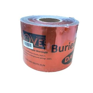 DETECTABLE WARNING TAPE 200M X 15CM