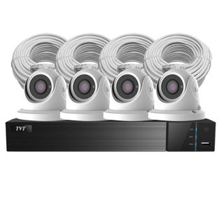 4 CHANNEL DVR 1080P DOME CAMERA KIT 1TB