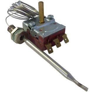 Capillary Hot Water Thermostat 30-110C