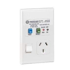 PDL 600 SERIES RCD PROTECTED SINGLE VERT