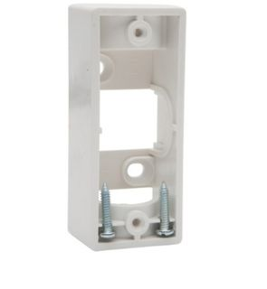1 Architrave Mounting Block - White