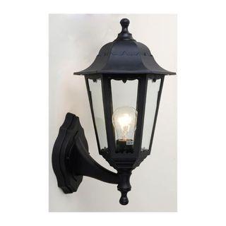 Exterior Plastic Living Area ConvertibleWall Lantern E27 IP54