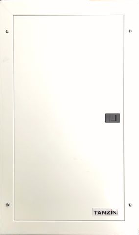 3 PHASE 24 WAY DISTRIBUTION BOARD WITH MAIN SWITCH