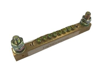 6 WAY 63A BUSBAR WITHOUT STUD