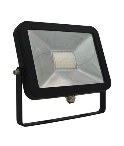 20W BLK SLIM LED FLOOD LIGHT 5000K