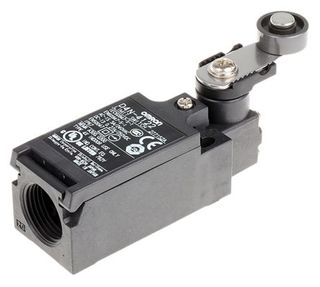 D4N Series, Miniature Safety Limit Switch, 10A, IP67