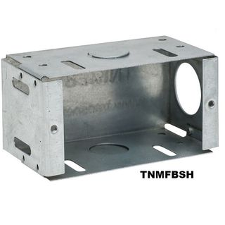 METAL SINGLE FLUSH BOX UNIVERSAL MOUNT