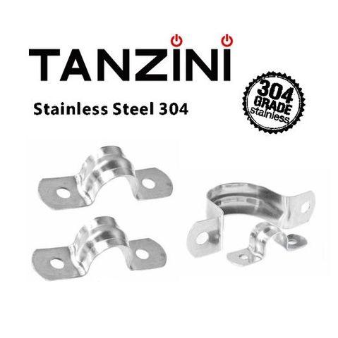 TANZINI  Stainless Steel FULL Saddle 25MM