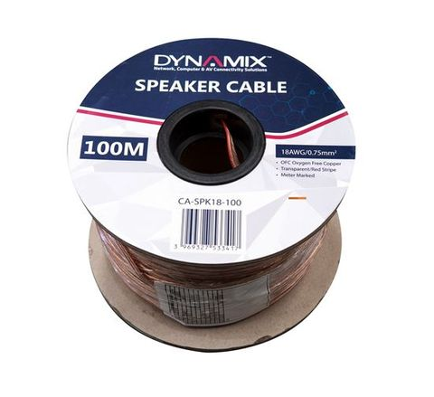 Dynamix 100M 18AWG Speaker Cable