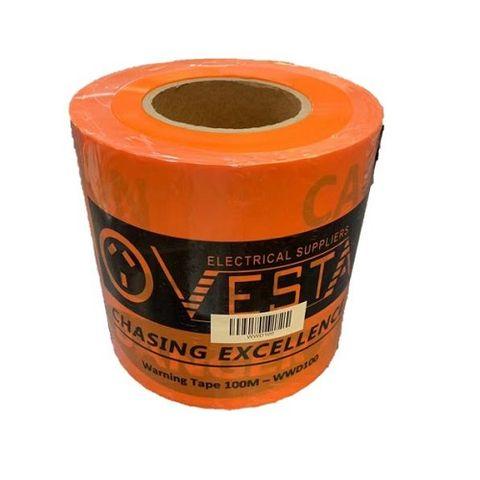 WARNING DANGER TAPE 100M X 15CM  Polythylene