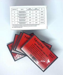 TANZINI INTUMESCENT FIRE PAD 5PCS/PKfor Flush Box