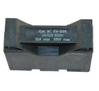 Plastic Fuse Carrier & Base32amp Din Mou