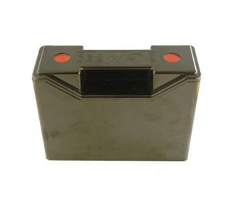Plastic Fuse Carrier & Base2x End Entrys
