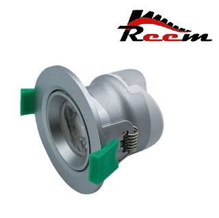 REEM White Dimmable LED Downlight - 10WColour selectable 70mm Cutout
